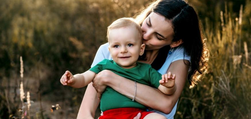 Zdjęcia mamy z synem